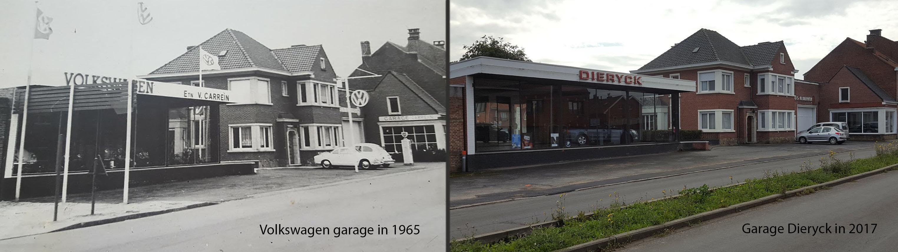 Geschiedenis Garage Dieryck Ieper